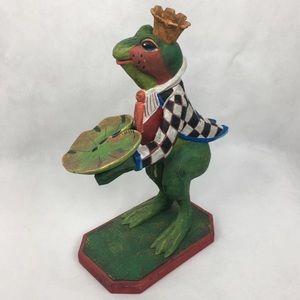 Mr. Frog Prince with Lily Pad